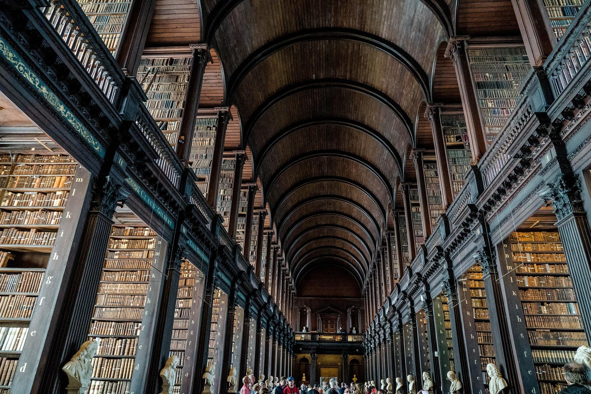 Тринити колидж библиотека