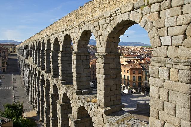 Сеговия, Испания, акведукт