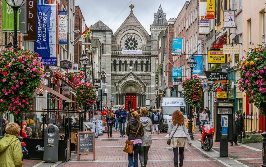 Центъра на Дъблин