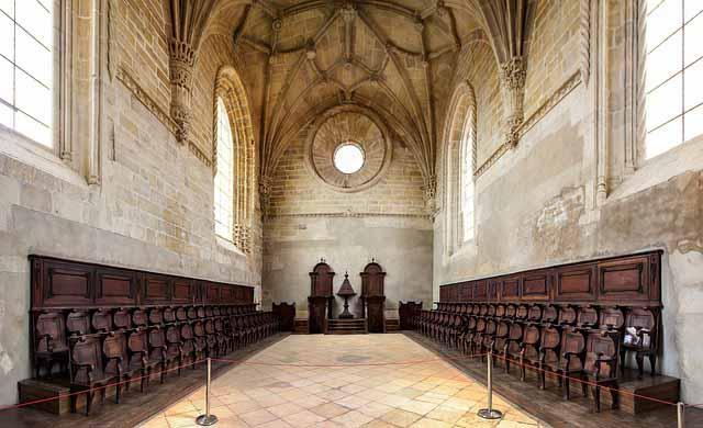 Манастир в Томар, Португалия