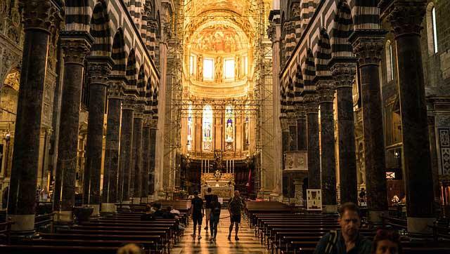 Готическата катедрала Сан Лоренцо - Геноа